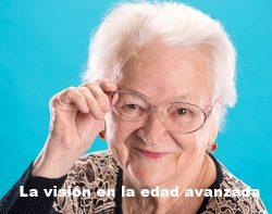 La visión en la edad avanzada