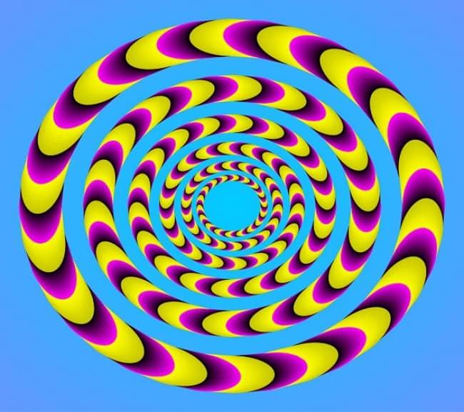 Akiyoshi Kitaoka -Ilusión óptica 5